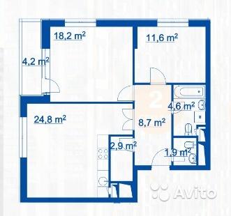 Обсуждаем планировки квартир корпуса 3Б 2_10