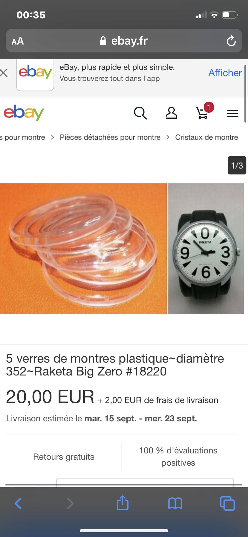 Recherche verre pour petite BIG 0 0ad23a10