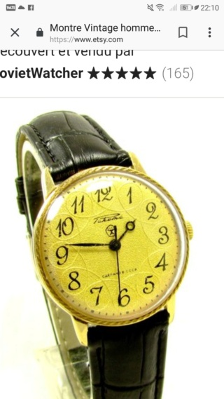 RAKETA 2609.HA plaqué or bracelet montre, 19 bijoux Screen29
