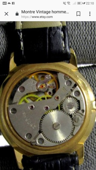 RAKETA 2609.HA plaqué or bracelet montre, 19 bijoux Screen30