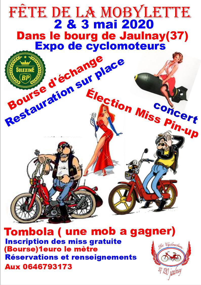 2et 3 mai 2020 fête de la mob à Jaulnay (37) Fete_d10