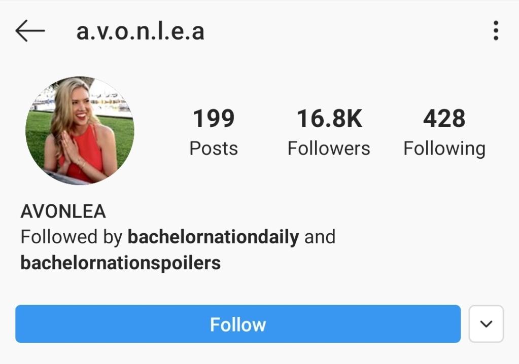 Avonlea Elkins - Bachelor 24 - *Sleuthing Spoilers* Screen23