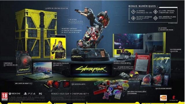 Cyberpunk 2077 Édition Collector Dde10