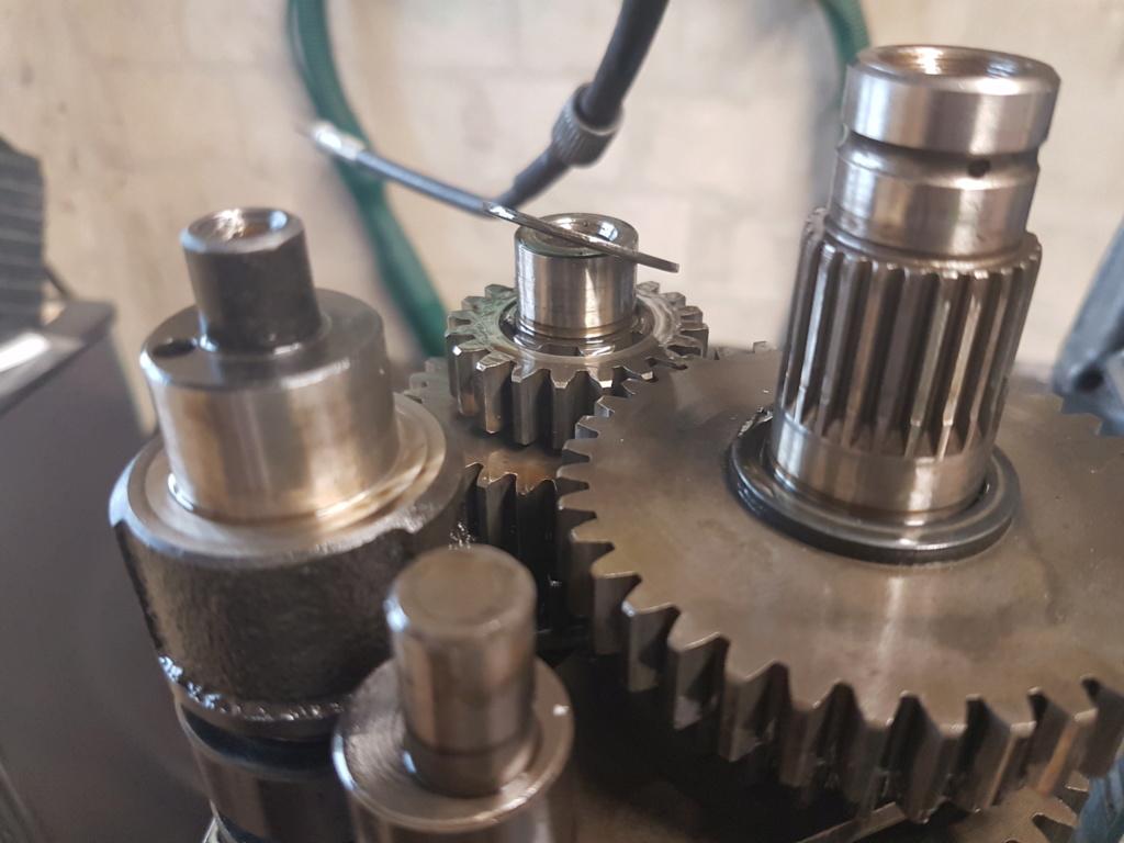 Getriebe ausgebaut - Scheibe fehlt oder Unterschiede im Baujahr? 20190810