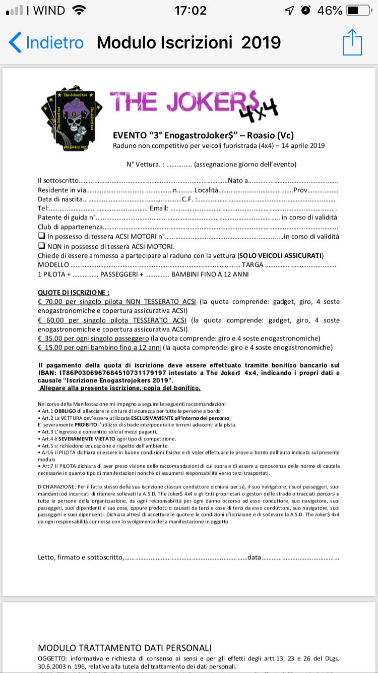 Raduno EnogastroJokers  14 aprile 2019 Img_9513