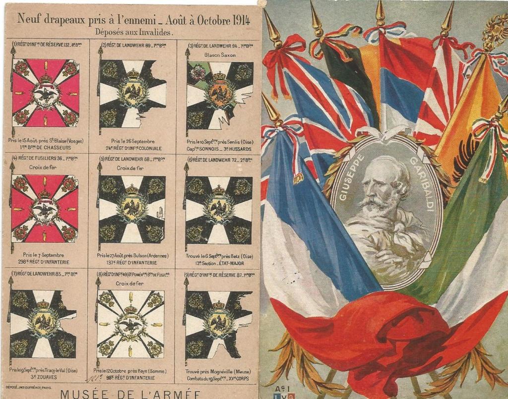 Cartes postales aquarelles ww1 5047cf10