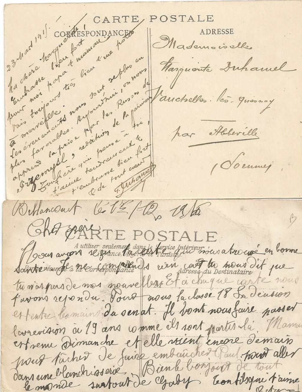 Cartes postales aquarelles ww1 5d584310