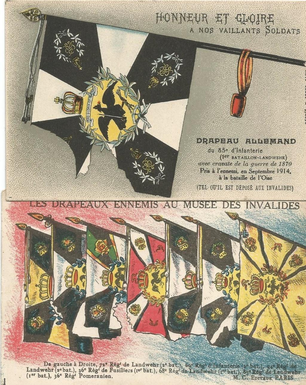 Cartes postales aquarelles ww1 A0912f10