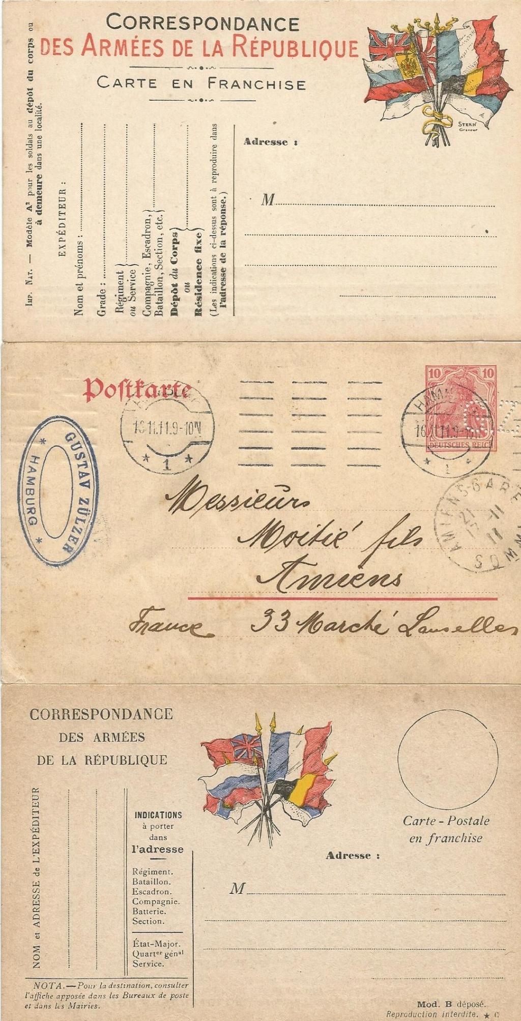 Cartes postales aquarelles ww1 Da897610