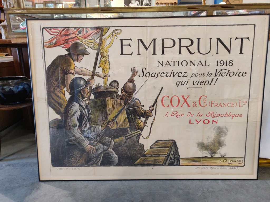 Affiche emprunt national 1918 Img_2032