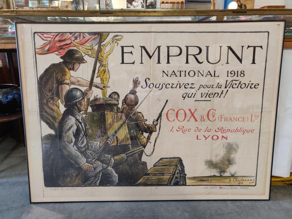 Affiche emprunt national 1918 Img_2035