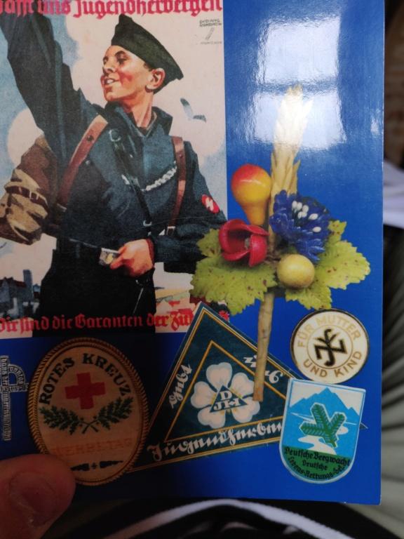 Rentrée du jour, insignes inconnus Autrichiens ou allemands ?  Img_2099