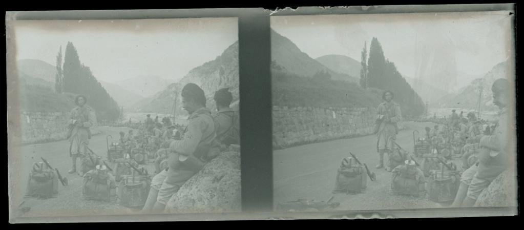 Plaques photos chasseurs alpins ww1 ou entre deux guerres ?  Numear70