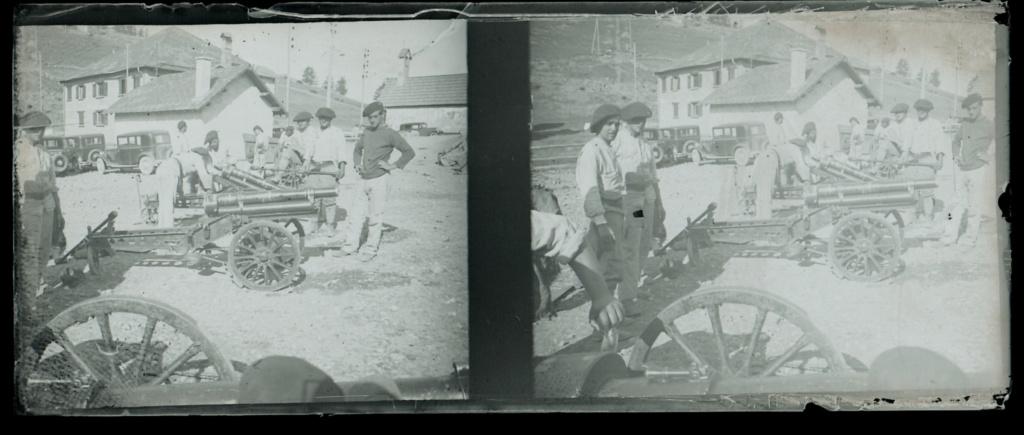 Plaques photos chasseurs alpins ww1 ou entre deux guerres ?  Numear73