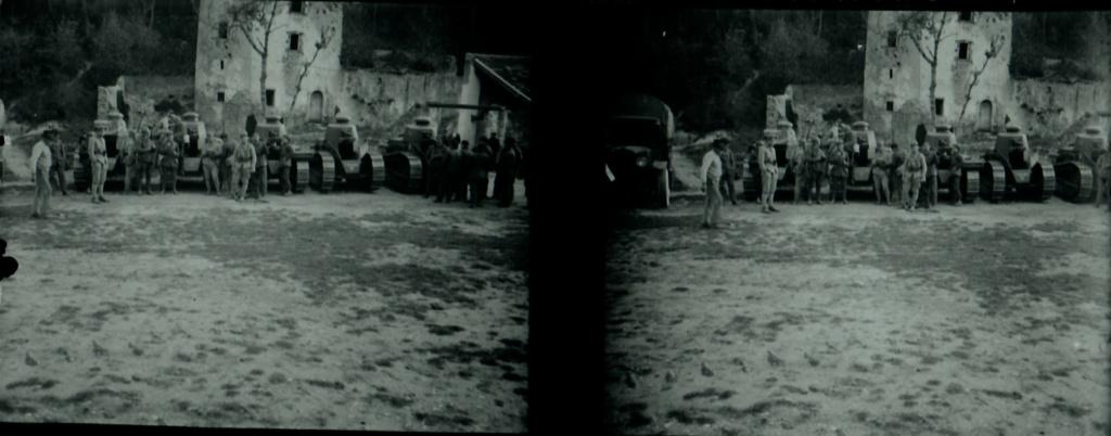 Plaques photos chasseurs alpins ww1 ou entre deux guerres ?  Numear77