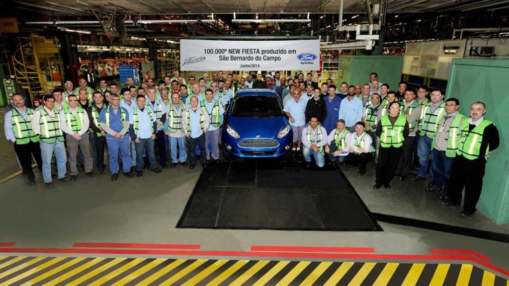 História: fábrica da Ford em SBC já produziu Jeep, Renault, VW e até Chrysler 100-0010