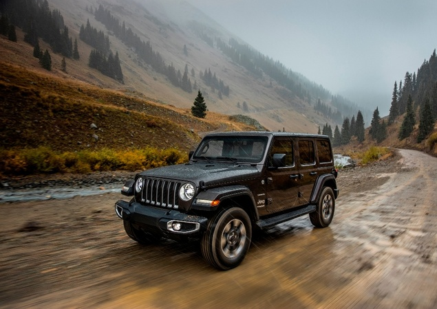 Novo Wrangler revoluciona ícone da Jeep 10241210