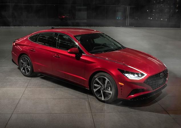 Novo Hyundai Sonata Sport é revelado antes da estreia 10245310