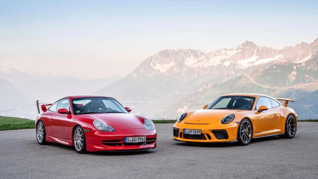 Porsche 911 GT3 é um carro de corrida habilitado para ruas e celebra 20 anos 20-jah10