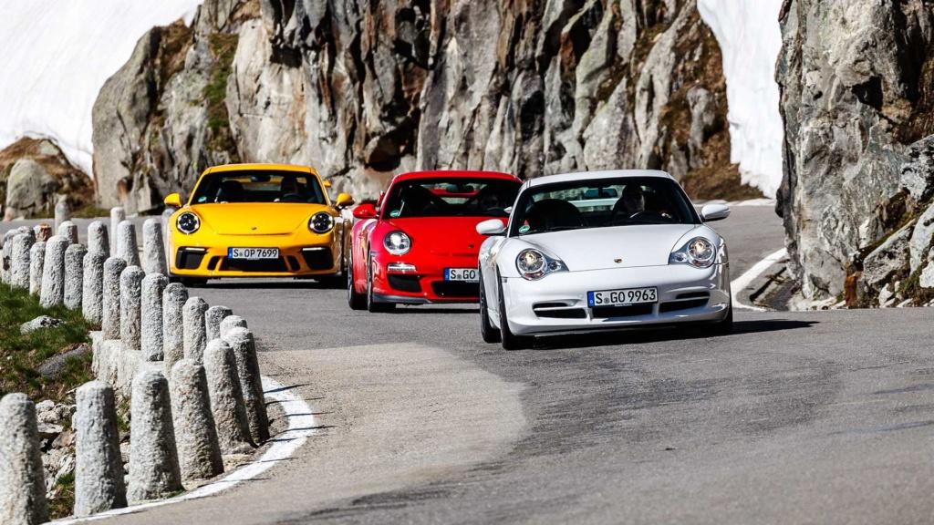 Porsche 911 GT3 é um carro de corrida habilitado para ruas e celebra 20 anos 20-jah11