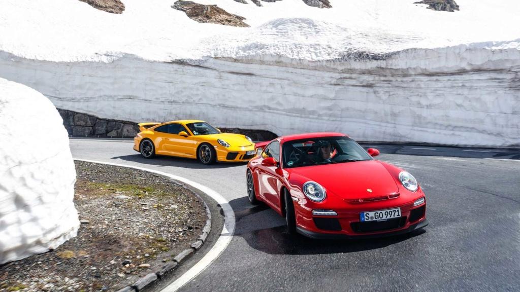 Porsche 911 GT3 é um carro de corrida habilitado para ruas e celebra 20 anos 20-jah12