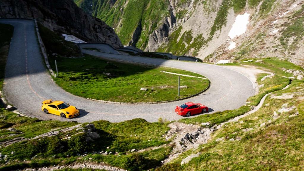 Porsche 911 GT3 é um carro de corrida habilitado para ruas e celebra 20 anos 20-jah13