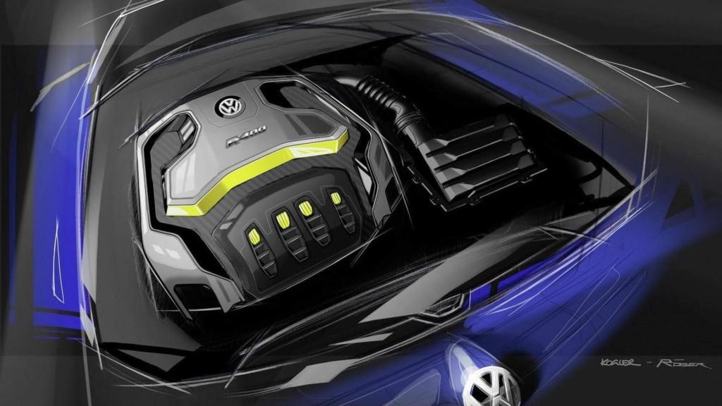 Novo Volkswagen Golf terá versão R Plus com quase 400 cv 2014-413