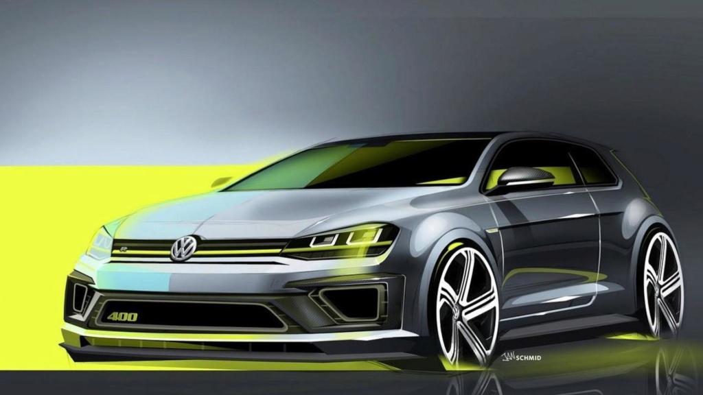 Novo Volkswagen Golf terá versão R Plus com quase 400 cv 2014-414