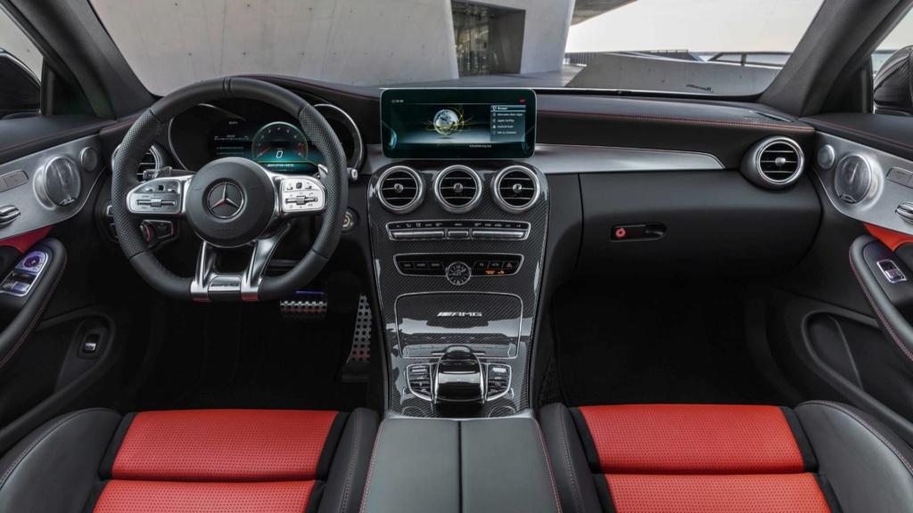 Nova geração do Mercedes-AMG C63 terá tração 4WD e modo drift 2019-m29