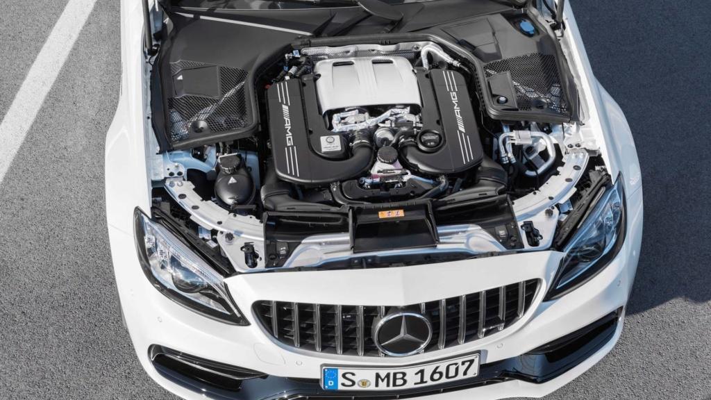 Nova geração do Mercedes-AMG C63 terá tração 4WD e modo drift 2019-m30