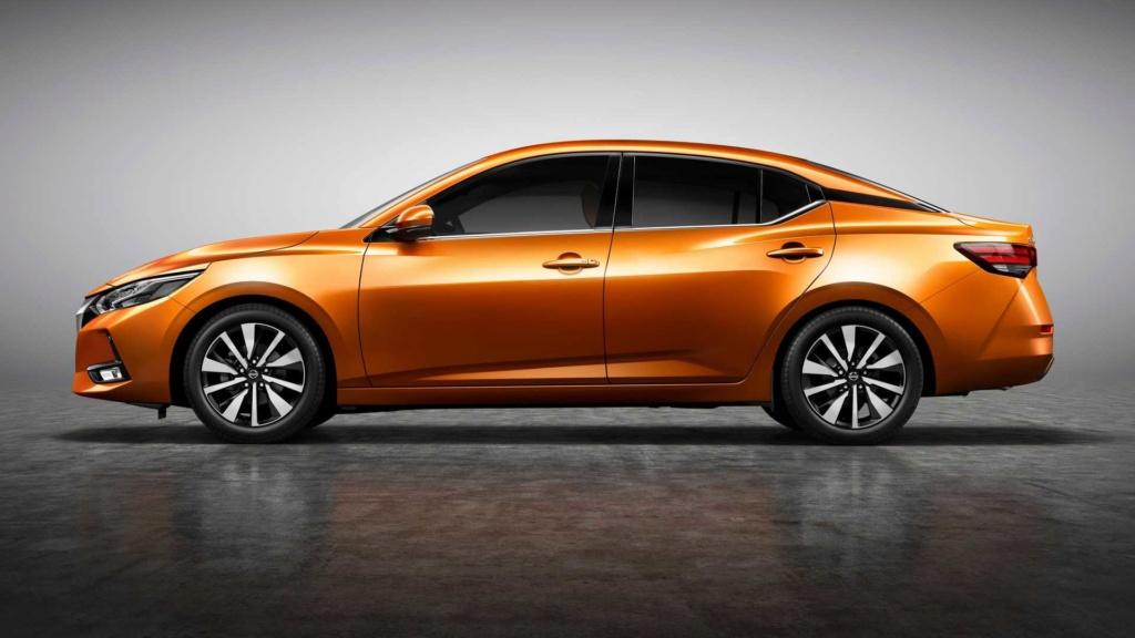 Nova geração do Nissan Sentra aposta no design e virá ao Brasil 2019-n12