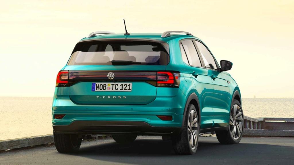 VW T-Cross europeu ganha motor 1.5 TSI e promete consumo de 19,2 km/l 2019-v65