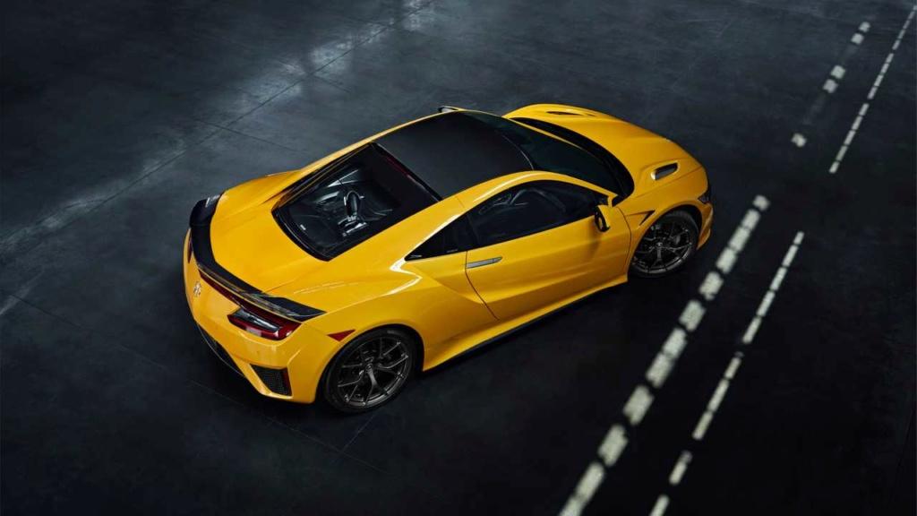 Honda NSX 2020 faz homenagem a clássico com cor amarelo Indy 2020-a16