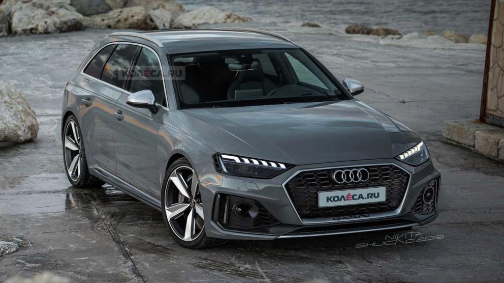 Nova Audi RS4 Avant trocará V6 twin-turbo 'puro' por conjunto híbrido 2020-a20