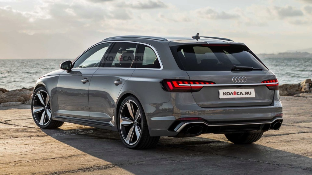 Nova Audi RS4 Avant trocará V6 twin-turbo 'puro' por conjunto híbrido 2020-a21