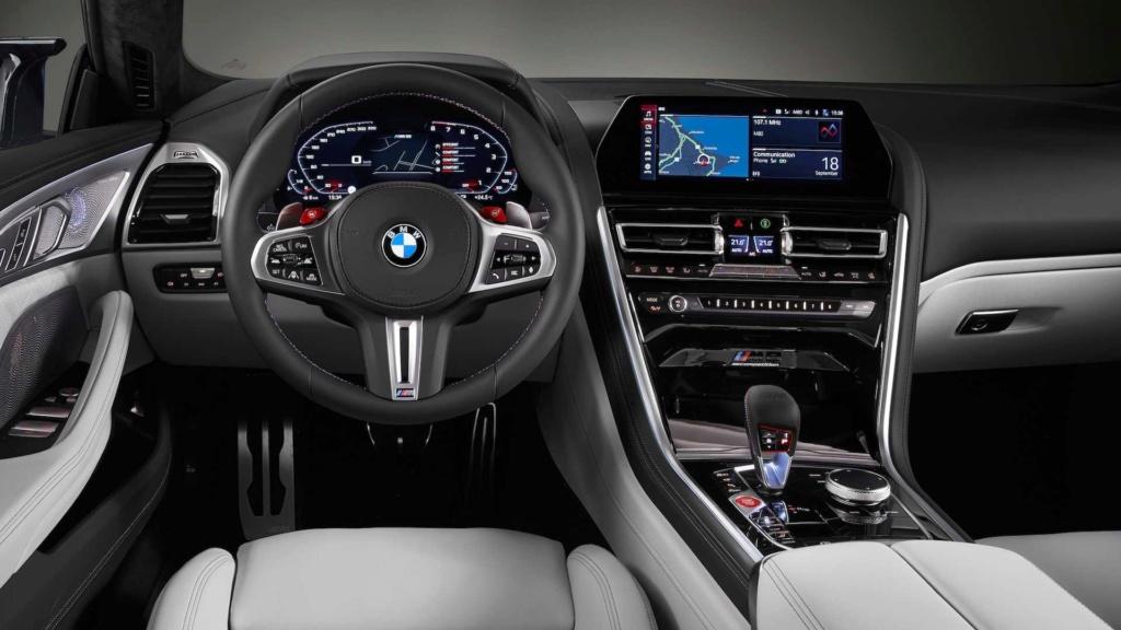 BMW M8 Gran Coupe é revelado com até 625 cv 2020-b57