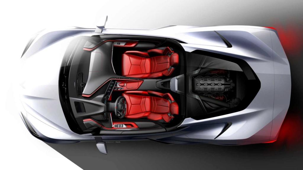 Chevrolet Corvette 2020 estreia com motor central de mais de 500 cv 2020-c18