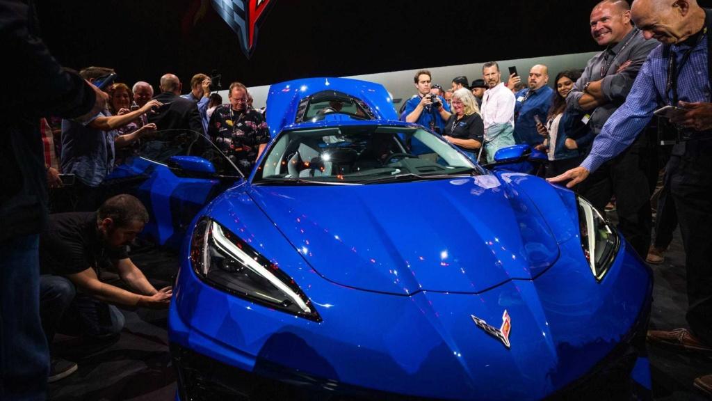 Produção do primeiro ano já foi quase toda vendida do novo Corvette 2020 2020-c25