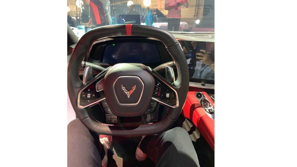 Produção do primeiro ano já foi quase toda vendida do novo Corvette 2020 2020-c27