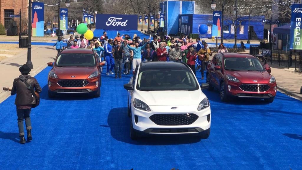 Lançamento: Novo Ford Escape 2020: SUV do Focus é revelado e pode vir ao Brasil desafiar o Compass 2020-f12