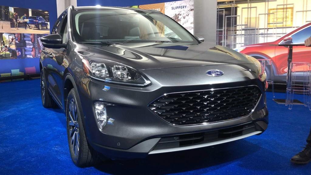 Lançamento: Novo Ford Escape 2020: SUV do Focus é revelado e pode vir ao Brasil desafiar o Compass 2020-f13