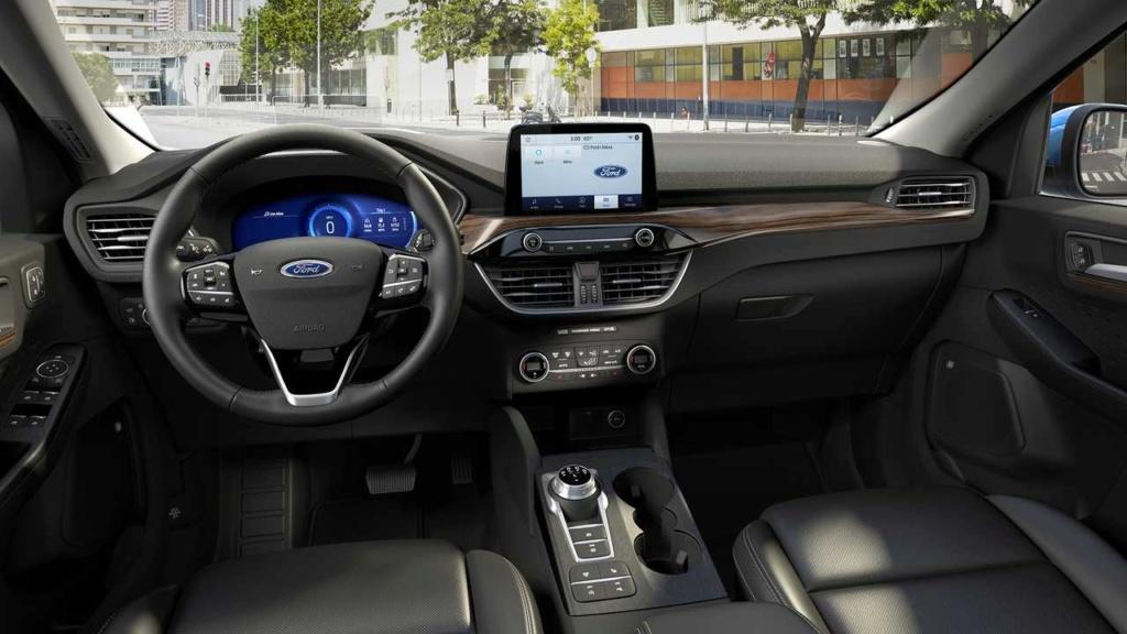 Esperado no Brasil, novo Ford Escape Hybrid faz 18,7 km/litro 2020-f34