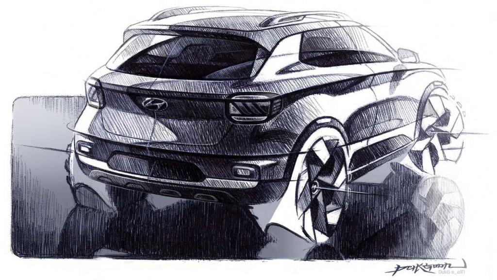 Hyundai Venue (mini Creta) tem novas imagens vazadas pouco antes da estreia 2020-h10