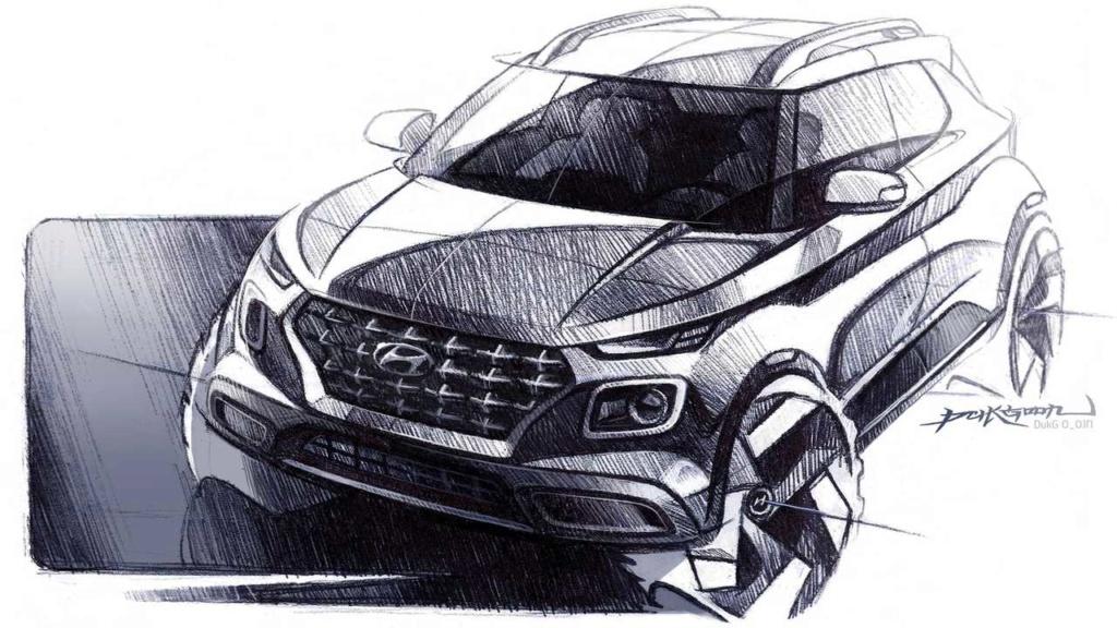 Hyundai Venue (mini Creta) tem novas imagens vazadas pouco antes da estreia 2020-h11