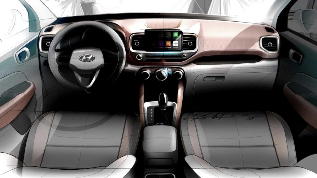 Hyundai Venue é mini-Creta com visual estiloso e cabine conectada 2020-h15