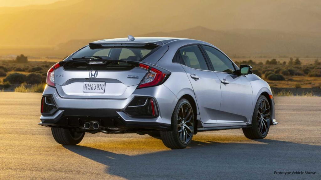 Honda Civic resiste aos SUVs e picapes com vendas crescentes nos EUA 2020-h20