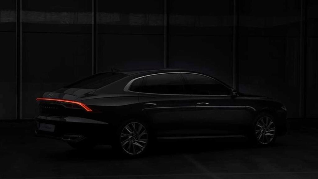 Hyundai Azera 2020 aparece em teasers e confirma grade iluminada 2020-h27