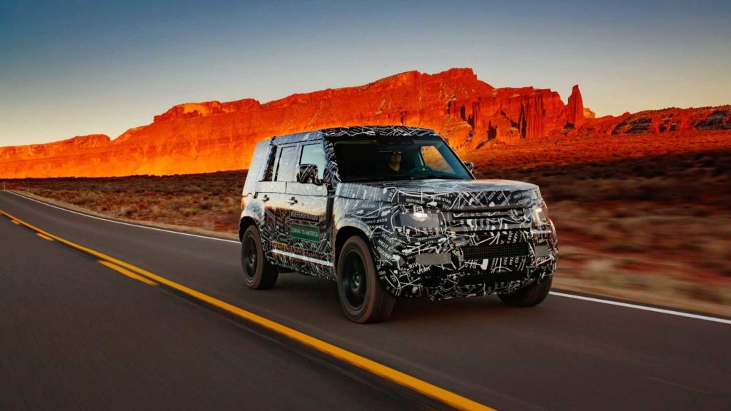 Novo Land Rover Defender já rodou 1,2 milhão de km em testes 2020-l10