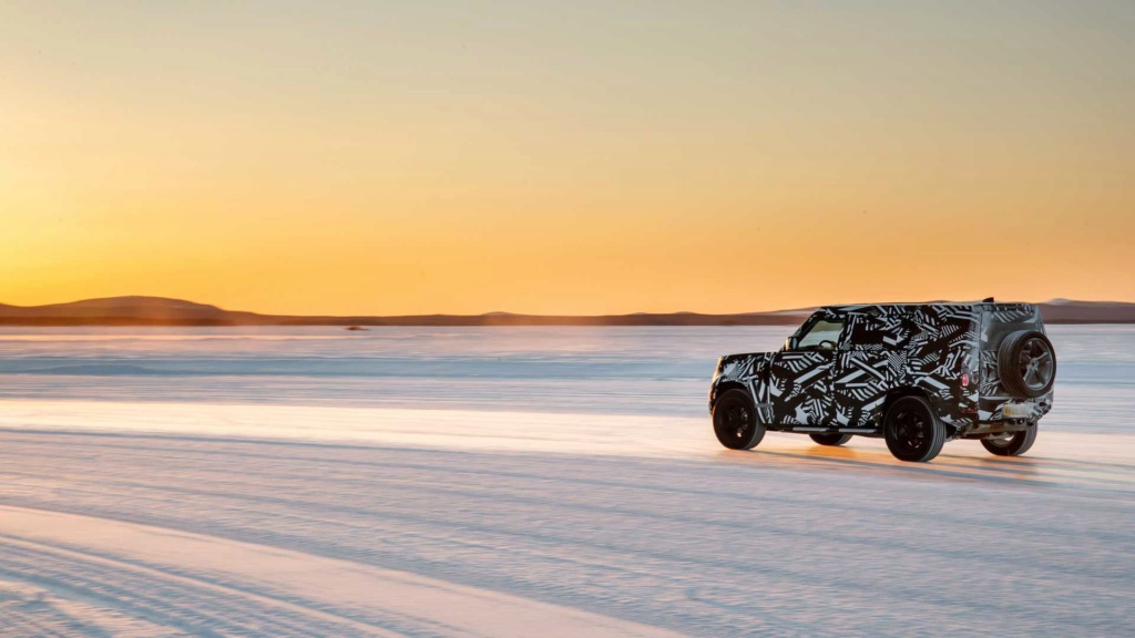 Novo Land Rover Defender já rodou 1,2 milhão de km em testes 2020-l12