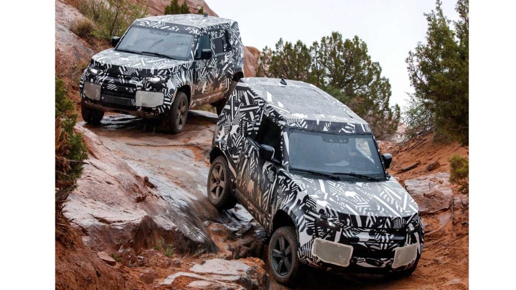 Novo Land Rover Defender já rodou 1,2 milhão de km em testes 2020-l13